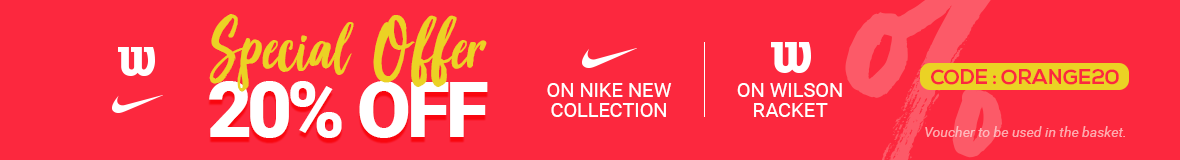 OrangeCoach : offer on nike - wilson