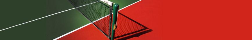 Lignes de tennis, lignes pour terrain de tennis