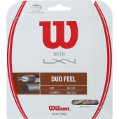 WILSON DUO FEEL: LUXILON ELEMENT & WILSON NXT 1.25 (12.20 METRES) HYBRID STRING PACK