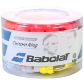 BOX OF 60 BABLOAT RUBBER CUSTOM RINGS FOR GRIPS AND OVERGRIPS