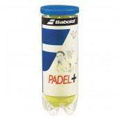 TUBE DE 3 BALLES DE PADEL BABOLAT PADEL+