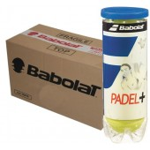 24 CAN CASE OF 3 PADEL BALLS BABOLAT PADEL+