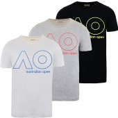 JUNIOR BOYS AUSTRALIAN OPEN LOGO T-SHIRT