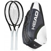 HEAD GRAPHENE 360 SPEED MP 2 RACQUETS + 1 BAG = 10% PACK