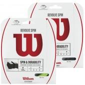 WILSON REVOLVE SPIN (12 METRES) STRING PACK