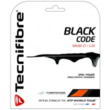 TECNIFIBRE PRO BLACK CODE FIRE (12 METRES) STRING PACK