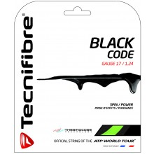 TECNIFIBRE PRO BLACK CODE LIME (12 METRES) STRING PACK