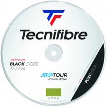 TECNIFIBRE PRO BLACK CODE LIME (200 METRES) STRING REEL