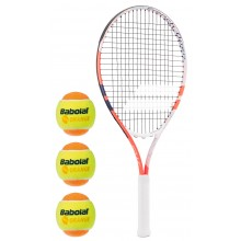JUNIOR BABOLAT 25 ROLAND GARROS KIT