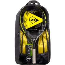 KIDS PACKAGE DUNLOP CV TEAM 25 (RACKET 25 JUNIOR + BACKPACK + TUBE OF 3 BALLS STAGE 3 GREEN)