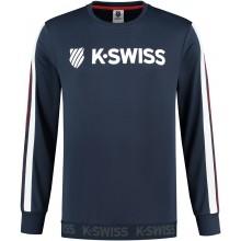 K-SWISS HERITAGE LOGO LONG SLEEVE SWEATER