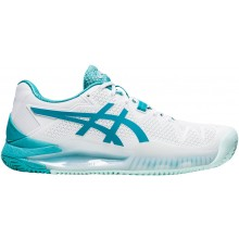 WOMEN'S ASICS GEL RESOLUTION 8 CLAY COURT SHOES
