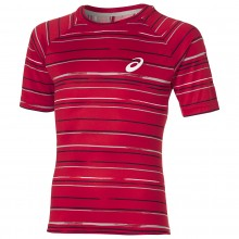 T-SHIRT ASICS CLUB GRAPHIC STRIPED
