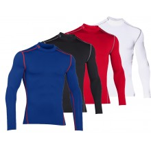 UNDER ARMOUR COLDGEAR ROLLNECK LONG-SLEEVE T-SHIRT