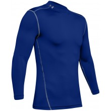 UNDER ARMOUR ROLL-NECK COLDGEAR LONG-SLEEVE T-SHIRT