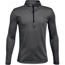JUNIOR UNDER ARMOUR TEXTURED LONG-SLEEVE T-SHIRT