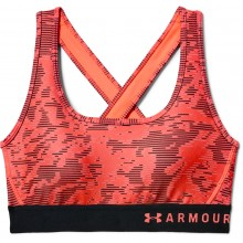 UNDER ARMOUR CROSSBACK PRINTED BRA