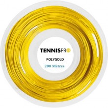 TENNISPRO POLYGOLD (200 METRES) STRING REEL