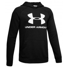 JUNIOR UNDER ARMOUR RIVAL LOGO SWEAT TOP