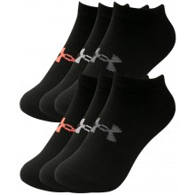 WOMEN'S 6 PAIRS OF UNDER ARMOUR ESSENTIAL SOCKS