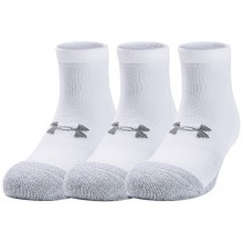 3 PAIRS OF UNDER ARMOUR HEATGEAR LO CUT SOCKS