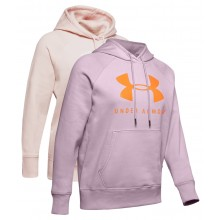 WOMEN'S UNDER ARMOUR RIVAL FLEECE SPORTSTYLE GRAPHIC SWEAT TOP