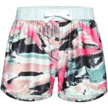 JUNIOR GIRLS' UNDER ARMOUR PLAY UP PRINTED SHORTS