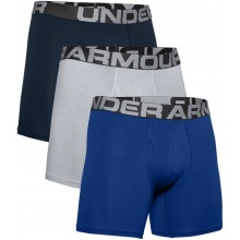 PACK OF 3 UNDER ARMOUR CHARGED COTTON 6IN BOXER SHORTS