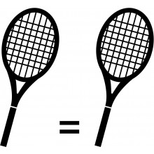 THE MATCHING OF 2 RACQUETS