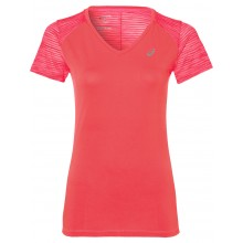 WOMEN'S ASICS FUZEX V-NECK T-SHIRT SPRING/SUMMER 2017