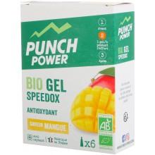 BOX OF 6 PUNCH POWER SPEEDOX MANGO GELS