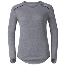 ODLO LONG SLEEVES TEE WOMEN WARM WHITE VALLEY WINTER 2016