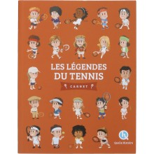 FRENCH BOOK : LES LEGENDES DU TENNIS