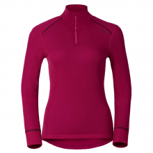 LONG SLEEVES TEE ODLO WOMEN WARM ZIP WINTER 2016