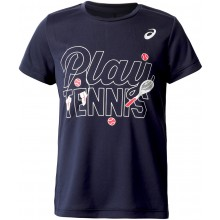JUNIOR GIRLS' ASICS TENNIS GPX T-SHIRT