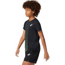 JUNIOR BOYS ASICS TENNIS GRAPHIC T-SHIRT