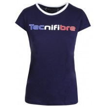 WOMEN'S TECNIFIBRE COTTON TRICOLOR T-SHIRT