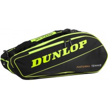 DUNLOP NT 12 YELLOW/BLACK TENNIS BAG