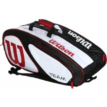 LIMITED EDITION WILSON TEAM II 12 RACQUET TENNIS BAG