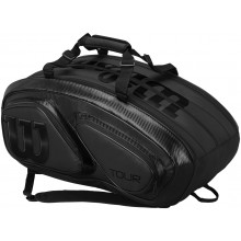 WILSON TOUR V 15 BLACK PACK TENNIS BAG (THERMO)
