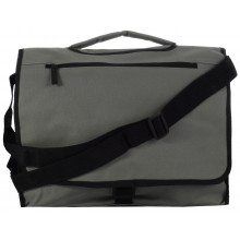 GREY BRIEFCASE - HANDBAG