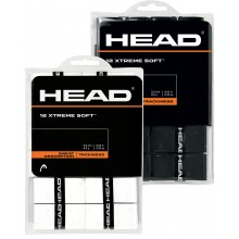 PACK 12 OVERGRIPS HEAD XTREME SOFT