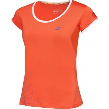 CAP SLEEVE TEE BABOLAT JUNIOR GIRLS PERFORMANCE FALL/WINTER 2016