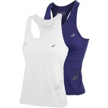 JUNIOR GIRLS' BABOLAT PERFORMANCE RACERBACK TANK TOP