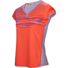 JUNIOR GIRLS' BABOLAT CAP SLEEVE PERFORMANCE T-SHIRT