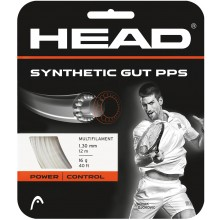 STRING HEAD SYNTHETIC GUT PPS WHITE (12m)