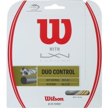 WILSON DUO CONTROL: LUXILON 4G & WILSON NXT CONTROL 1.25 (12.20 METRES) HYBRID STRING PACK