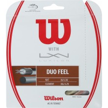 WILSON DUO FEEL: LUXILON ELEMENT & WILSON NXT 1.25 (12.20 METRES) HYBRID STRING PACK