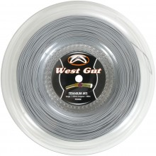 WEST GUT MTI TITANIUM TENNIS STRING (REEL- 200M)