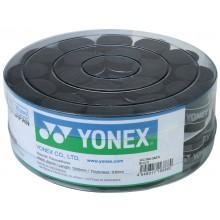 YONEX AC102 THIN BLACK OVERGRIPS - BOX OF 36 OVERGRIPS